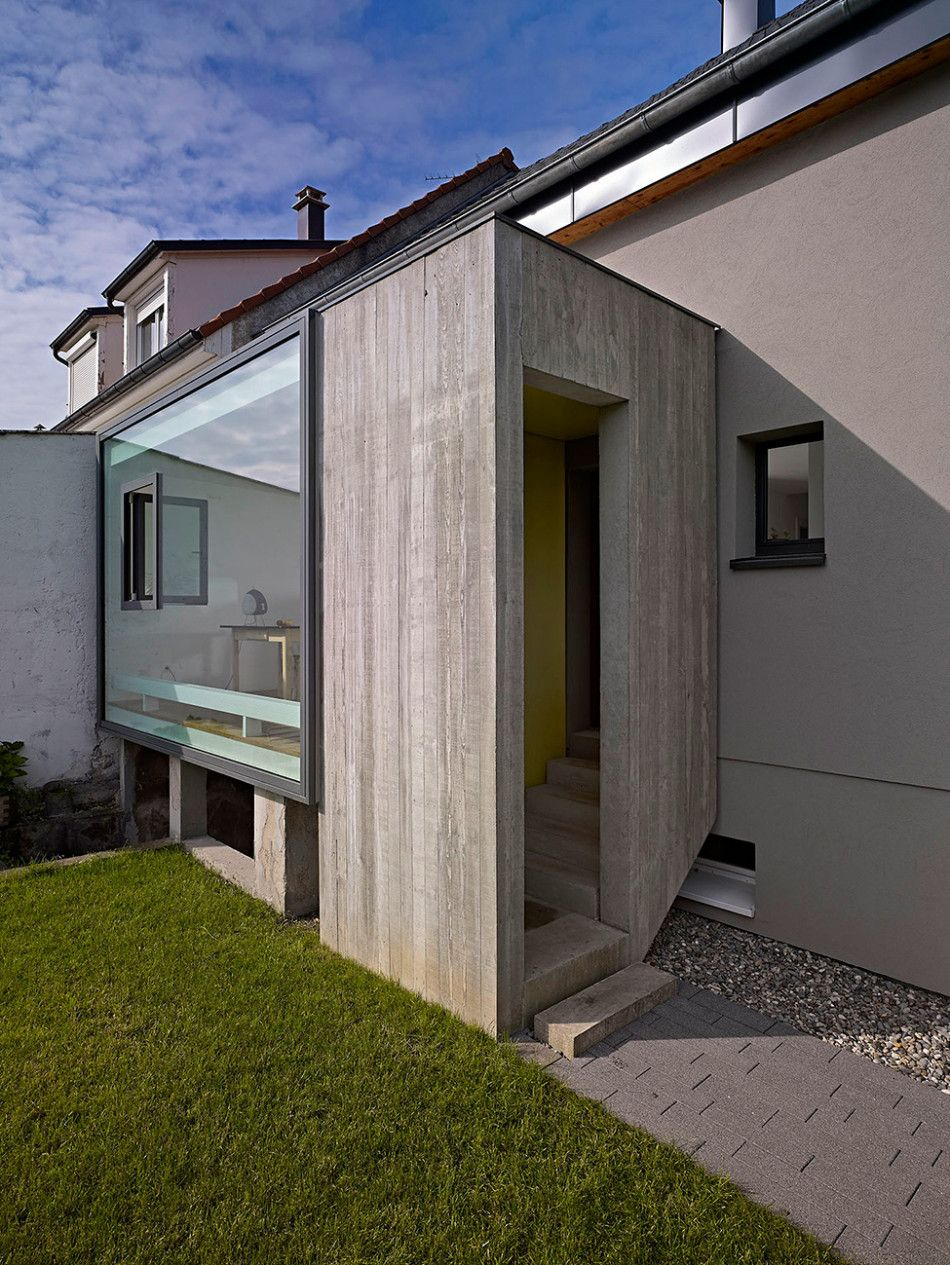 Extension Entrée Maison Small Yet Extremely Creative Home Extension In France By Loïc