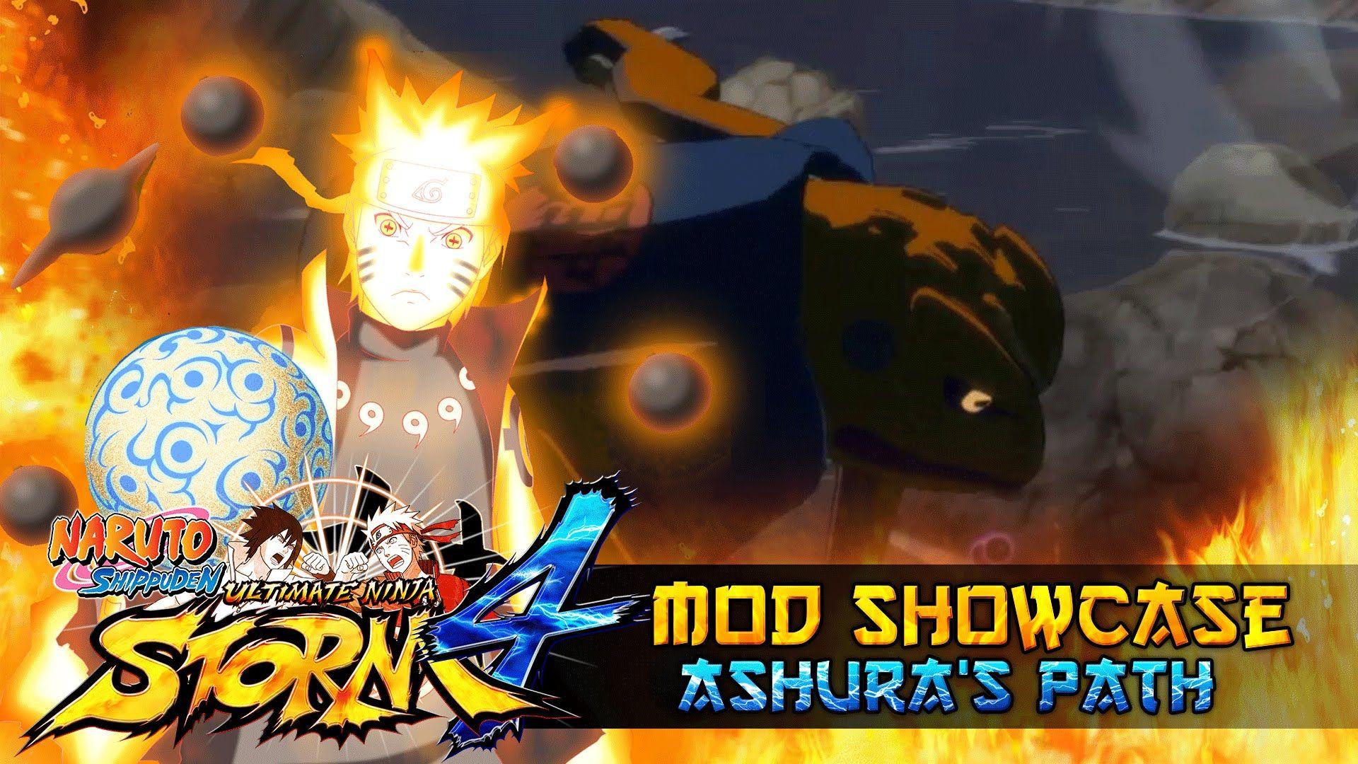 nice Over 9000!!! Naruto's Ashura Path!!! Naurto Shippuden