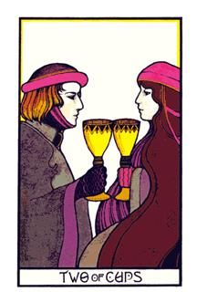Image result for image 2 of cups aquarian tarot