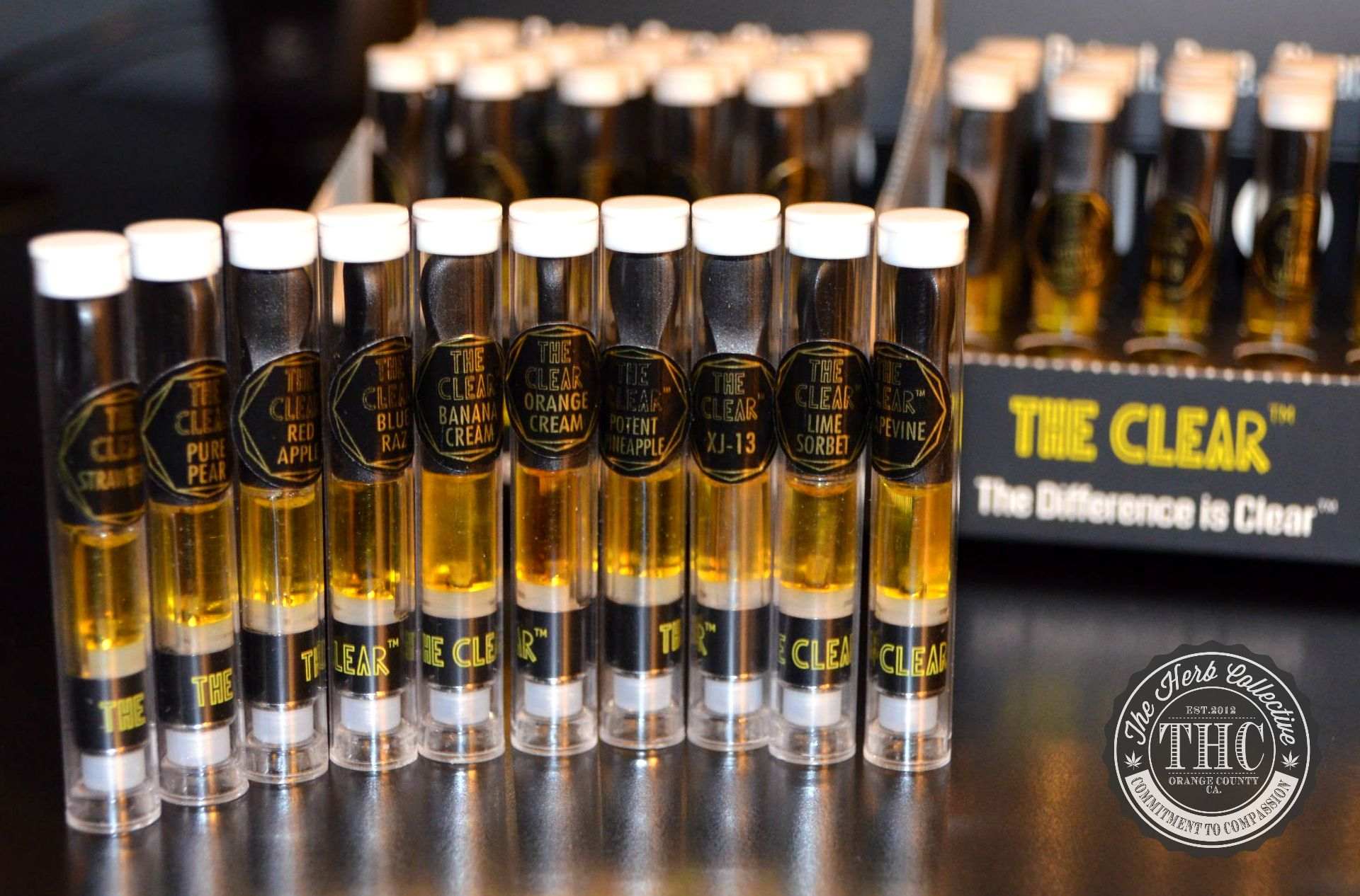 THE CLEAR CONCENTRATE | Vape Oil Cartridge 750mg