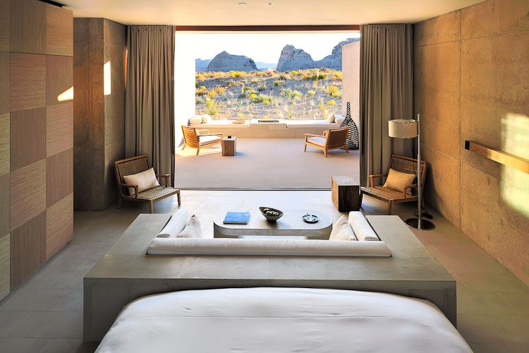 Amangiri desert view suite it 39 s a bit like camping in for Design hotel utah