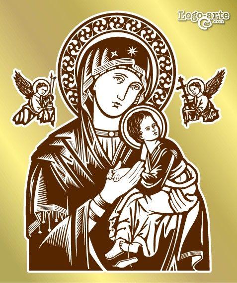 Pin En Virgen Del Perpetuo Socorro