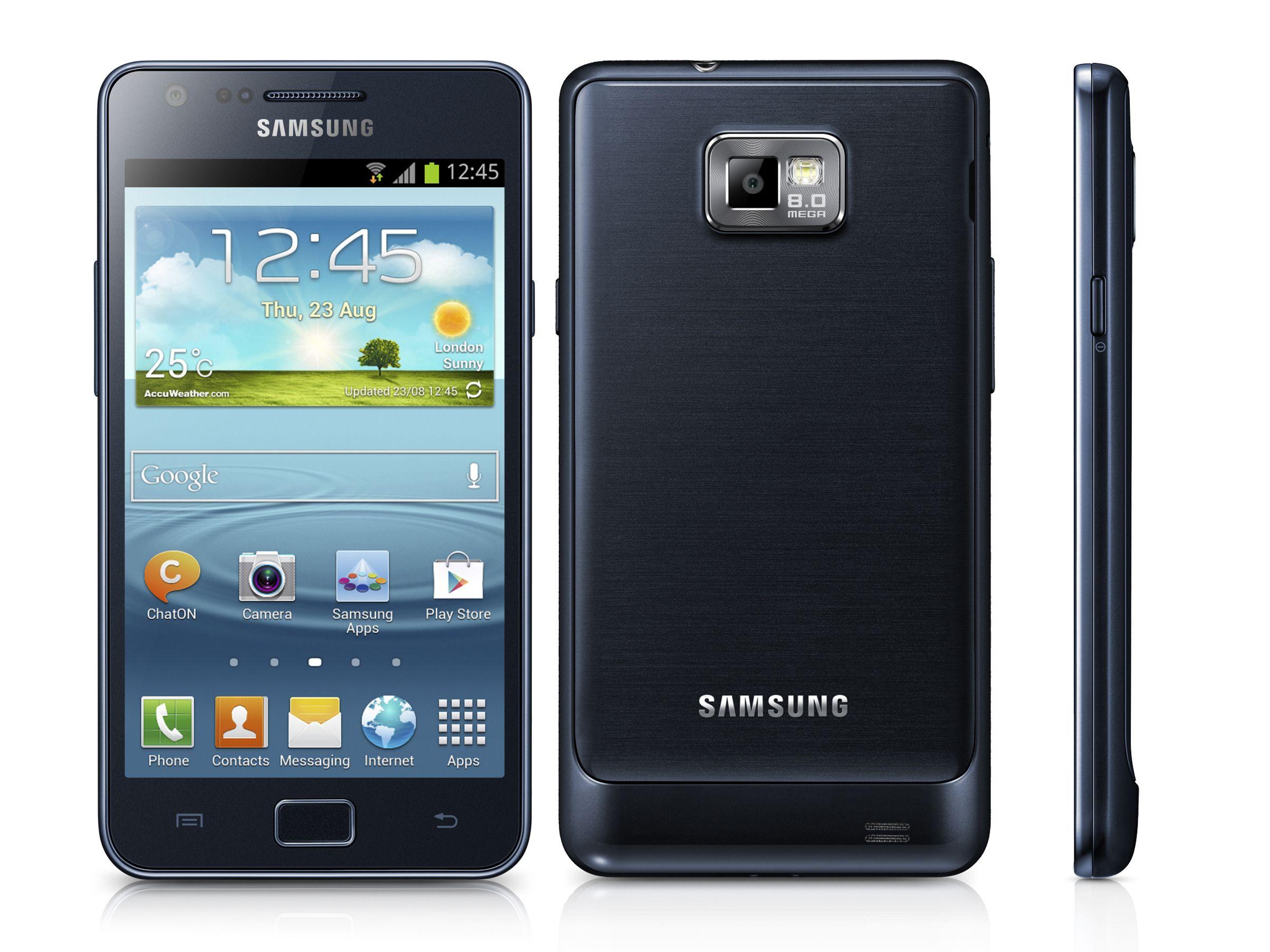 Galaxy S2 Samsung Galaxy Samsung Telefoon