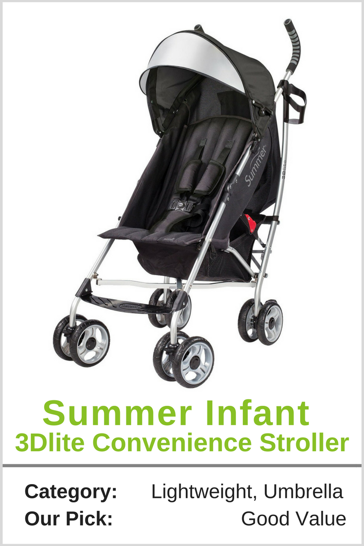 Summer Infant 3Dlite Convenience Stroller Best