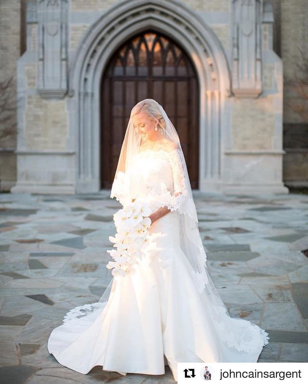 weddings, #traditional #Sanctuary #HPUMC #Dallas #Bride #Portrait ...