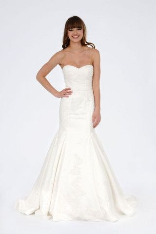 Priscilla Of Boston Mischa Fit To Flare Wedding Dress