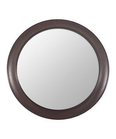 Another great find on #zulily! Bronze Round Mirror by Décor Therapy #zulilyfinds