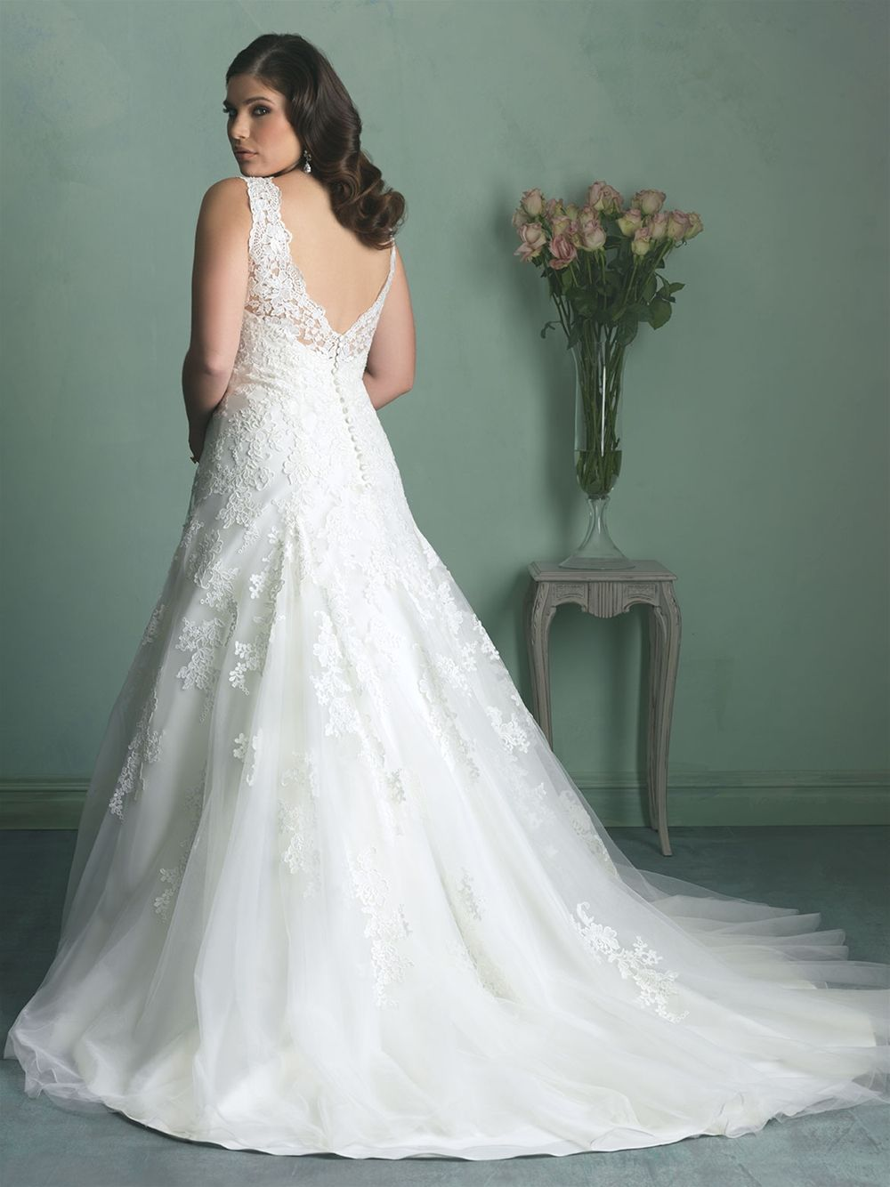 Allure Bridals: Style: W343 | Wedding: A Girl Can Dream! | Pinterest ...