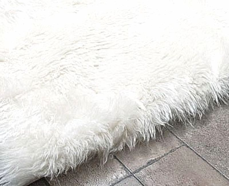 Click Picture To Enlarge Faux Sheepskin Rug Faux Fur