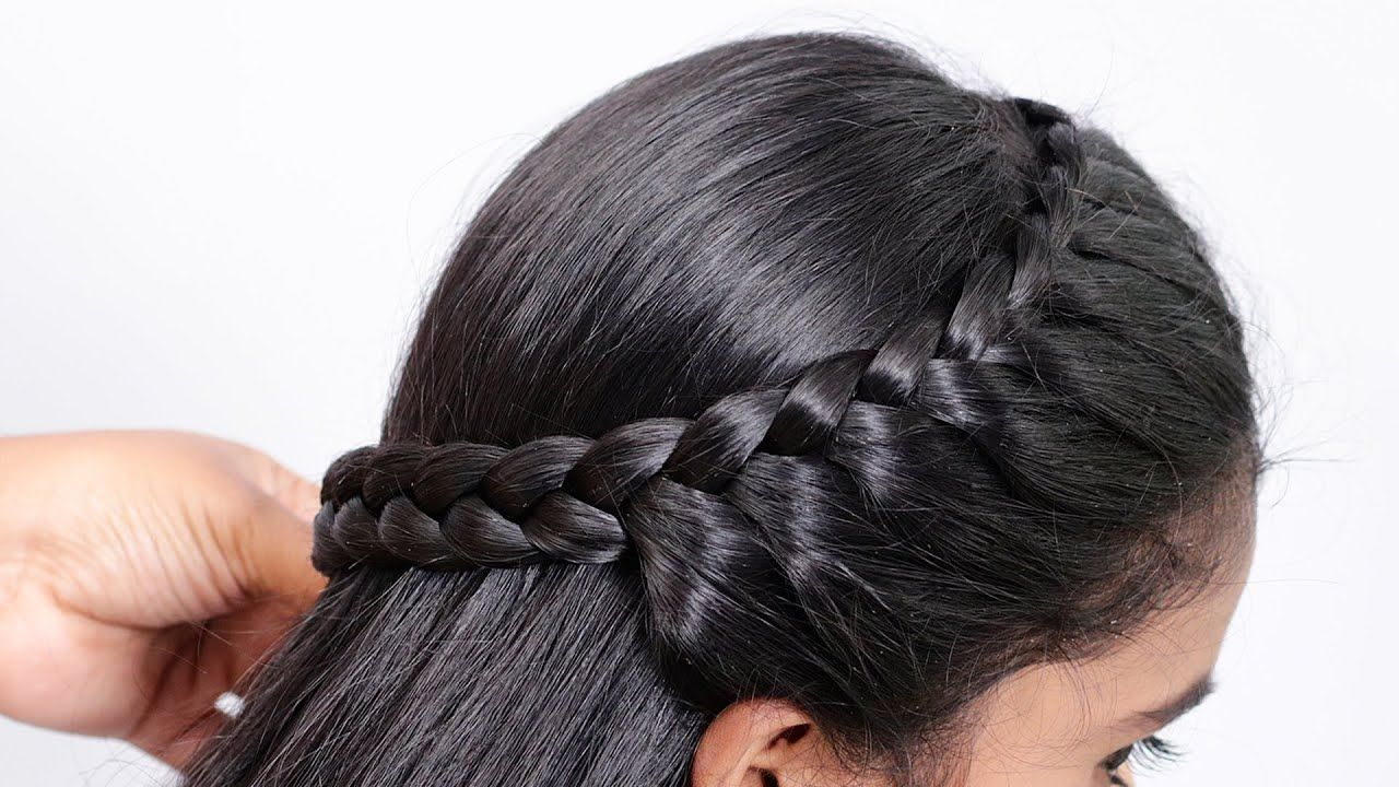 Very Easy Hairstyle For Medium Hair Everyday Girls Hairstyle Simpl Medium Hair Styles Easy Hairstyles For Medium Hair Girl Hairstyles