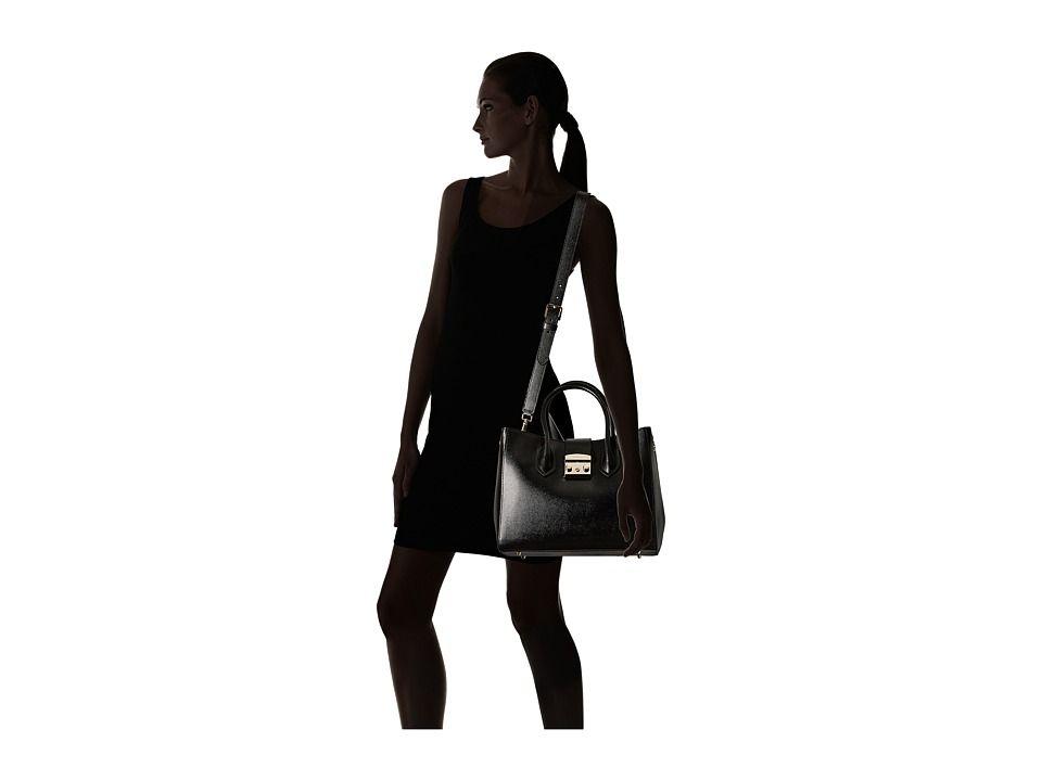 a2391dc16e Furla Metropolis Medium Tote Handbags Onyx