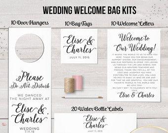 destination wedding welcome bag letter sample unique wedding ideas