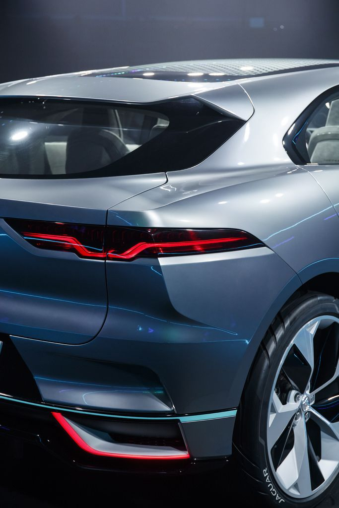 This Is The Jaguar I Pace Concept With Images Classic Cars