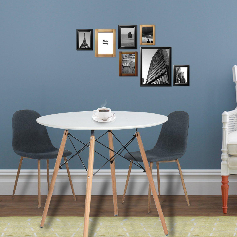 Amazon Com Eames Kitchen Dining Table Vogue Carpenter Round