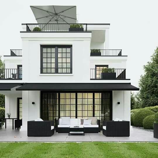 Colores para exteriores de casas 2018 tendencias en for Las mejores fachadas de las villas