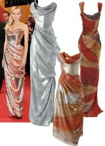 diane kruger vivienne westwood dress diamond jubilee love the side draping