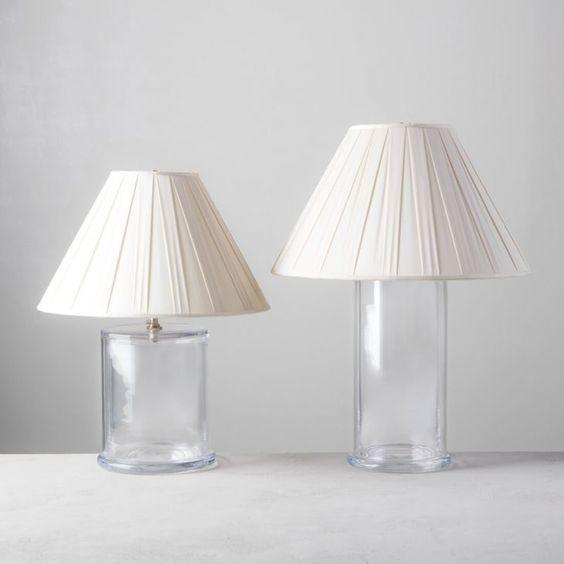 Simon pearce nantucket lamp