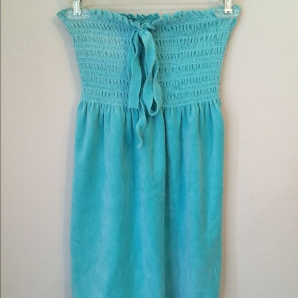 a14fb8b587e3c Juicy Couture Bathing Suit Coverup Juicy Couture Bathing Suit Coverup.  Perfect condition. Stretchy top