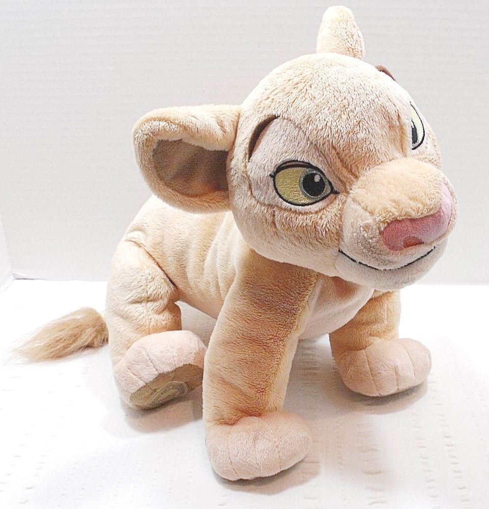 Disney Store The Lion King 15'' Nala Plush Toy Soft
