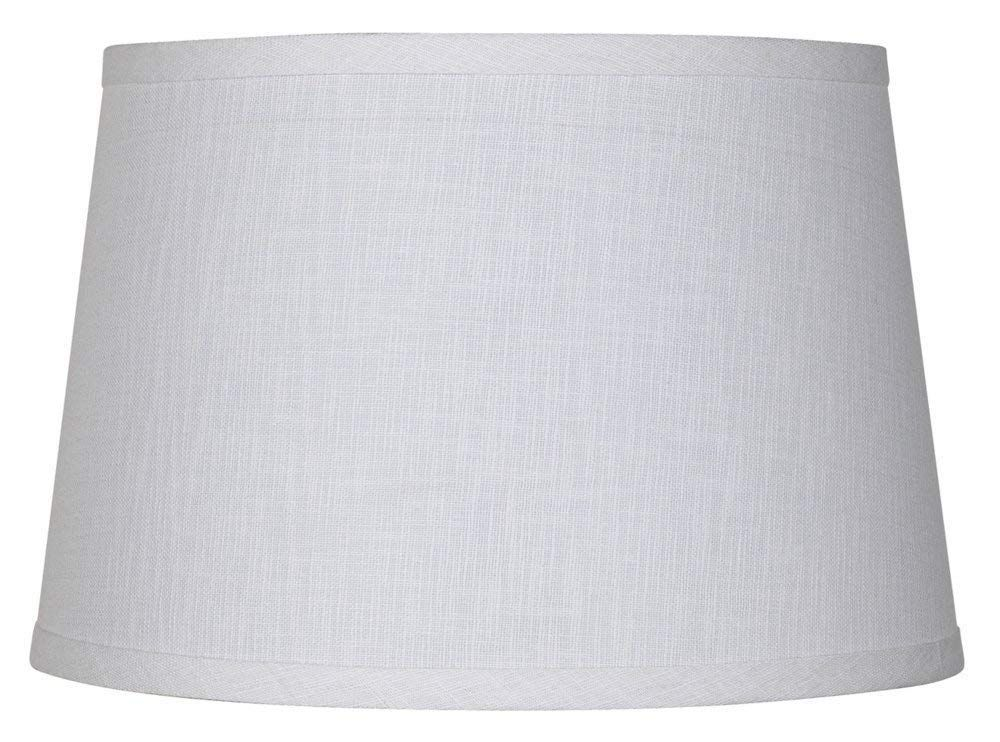 Upgradelights White Linen 12 Inch Uno Lamp Shade Replacement 9x12x7 5 You Can Get More Details By Clicking On The In 2020 Lamp Shade Drum Lampshade Uno Lamp Shades