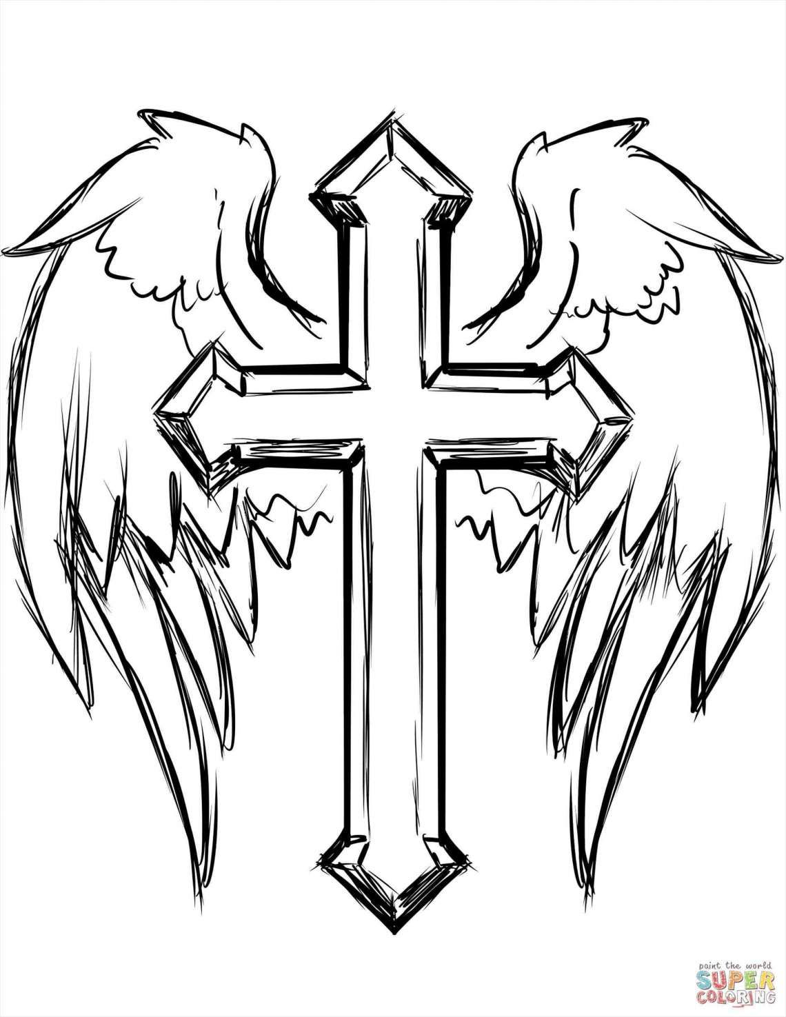 12 Cool Cross Drawings Check More At Https Drawingwow Com 12