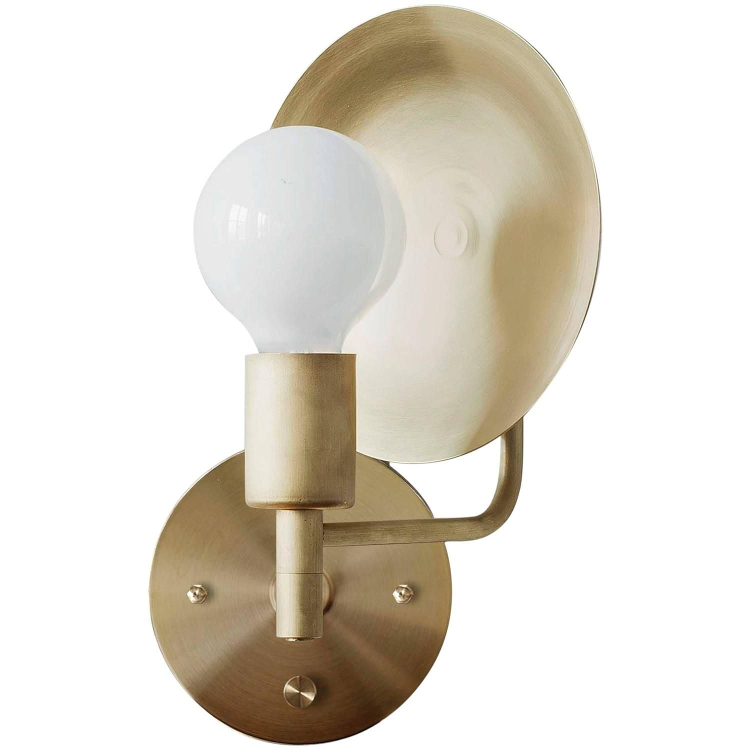 sports shoes c201c b6fe0 Workstead Wall Light / Sconce - Orbit Spun Swivel Convex ...