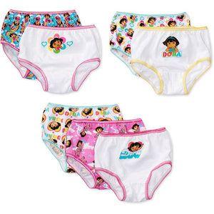 Dora Toddler Girls Underwear Panties 3-pack