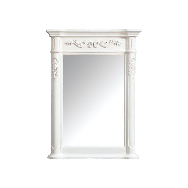 Avanity Provence M24 Rectangular Bathroom Mirror Mirror White