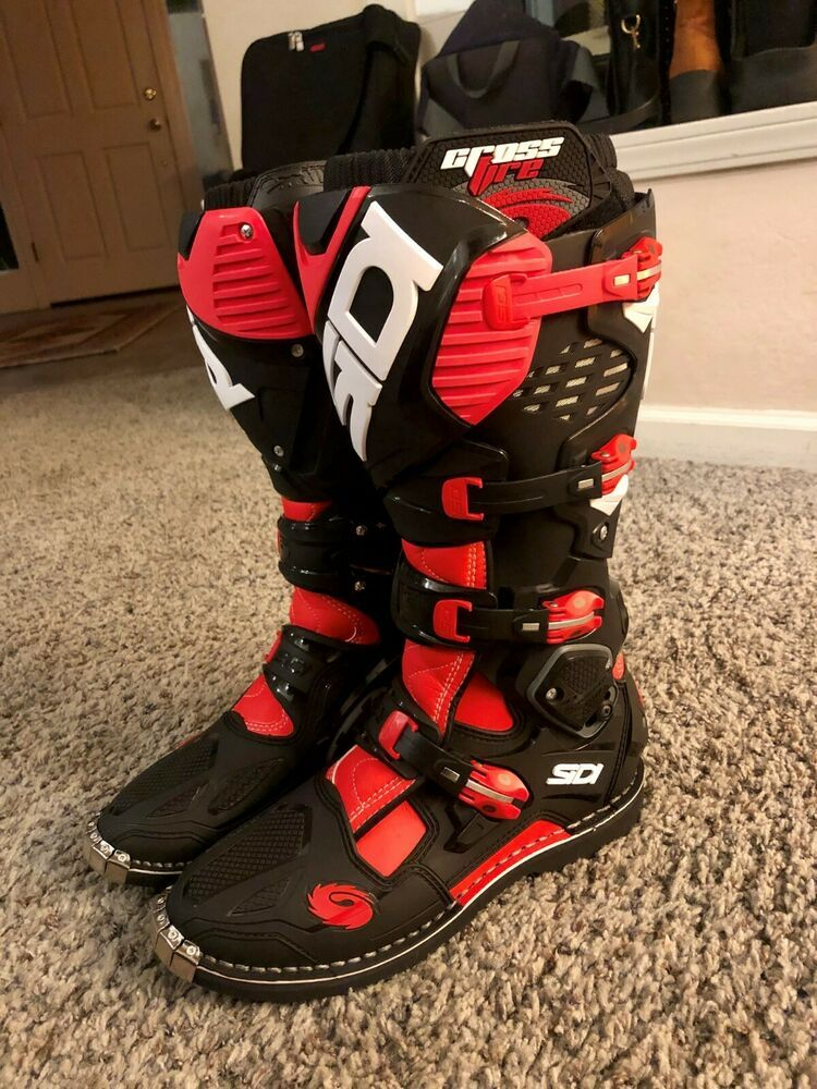 eBay Advertisement) SiDi Crossfire 3 TA Motocross Boots