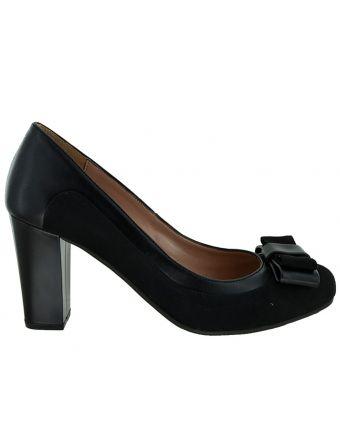 74414a3b07d Γόβες sedici με φιογκάκι black (6193) | shoes | Shoes, Peep toe και ...