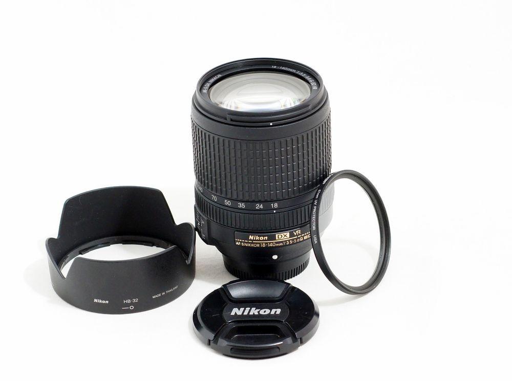 Nikon Nikkor 18 140mm F 3 5 5 6 As Dx G Swm Vr Sic Ed Lens D3200 D5200 D7000 D90 Nikon 3200 Nikon D3200 Nikon D7000