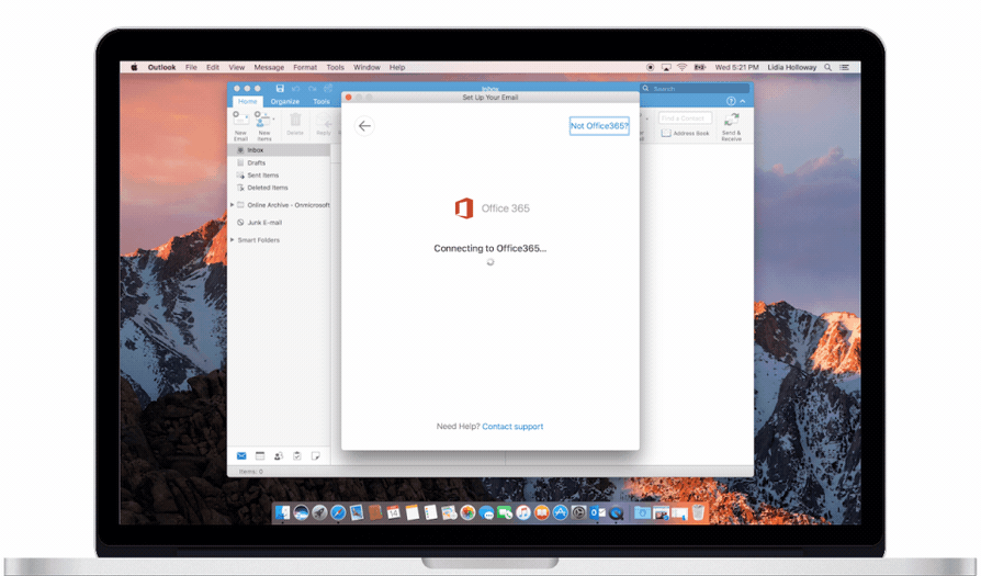 Outlook for Mac adds features Office 365 already has