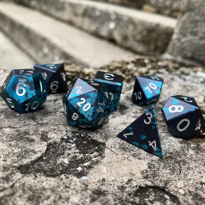 Willow O The Wisp Wondrous Dice Norse Font Set Of 7 Rpg Dice By Norse Foundry Dungeons And Dragons Dice Dragon Dies Polyhedral Dice Gromur set out to provide weapons of heavy weights and made of pure metal that would slash through enemies with the simple flick of a wrist. pinterest