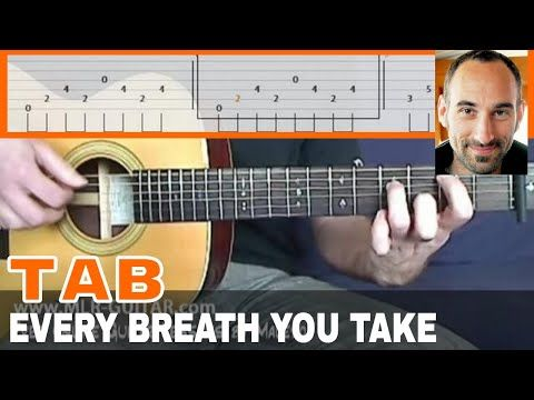 Every Breath You Take Guitar Lesson - part 1 of 4 - YouTube | Music ...
