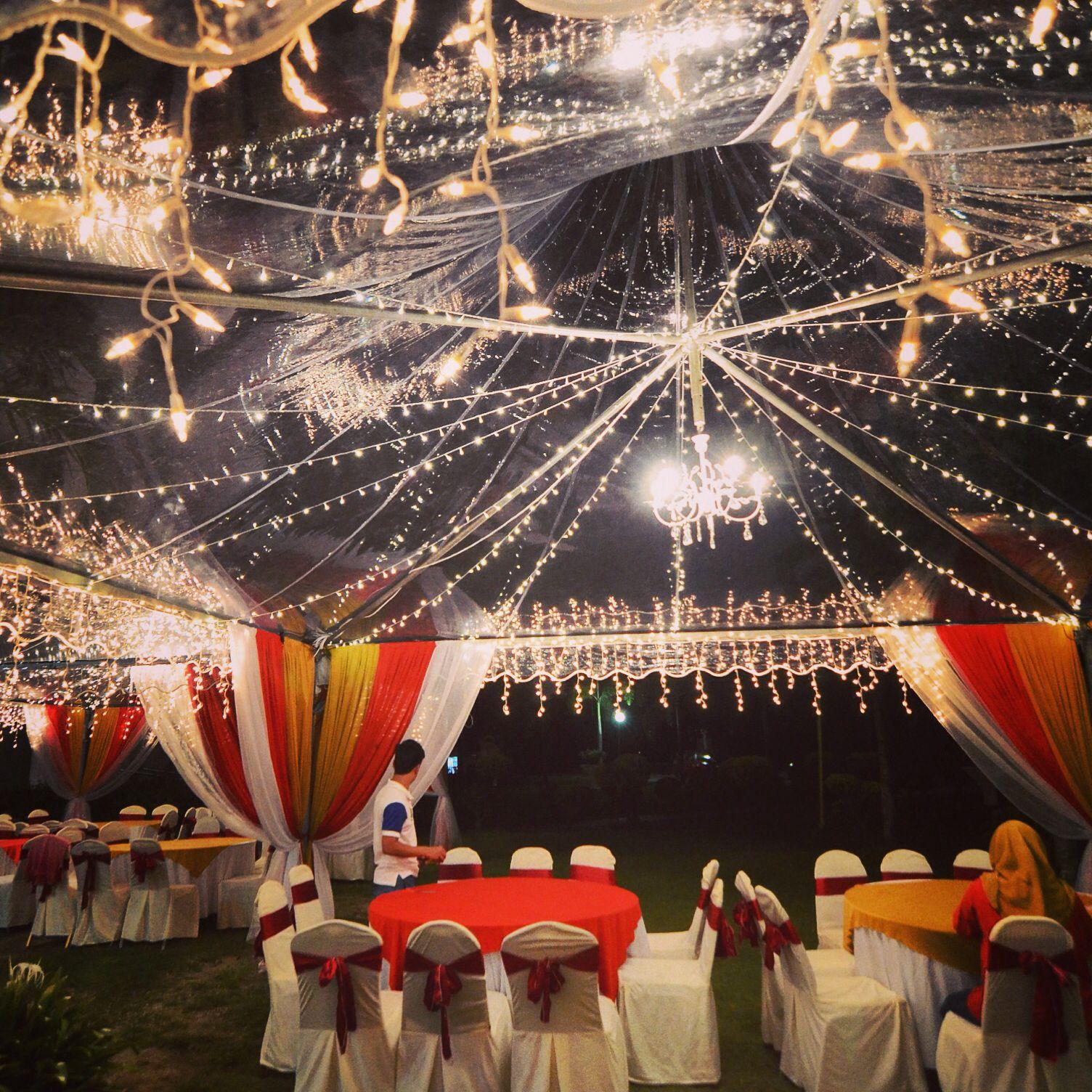 Transparent Canopy Fairylights Deco Tent Decorations Dream Wedding Wedding