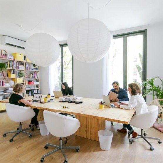 diseño oficinas barcelona W o r k + S p a c e Pinterest
