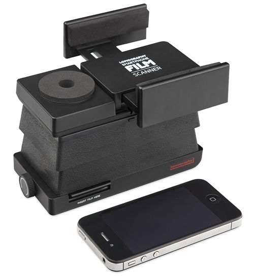The Smartphone Film Scanner offers Lomographers and analogue lovers a quick, easy and portable way to scan 35mm films.