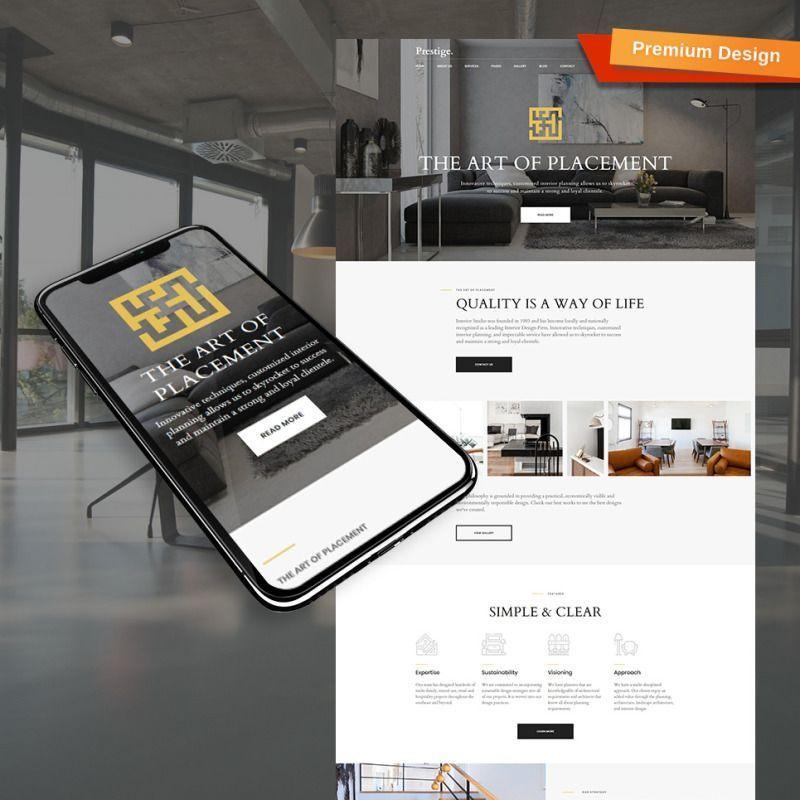 Best interior design website template for studios and architects interiordesignideas interiordesigner webdesign bestinteriordesignwebsites also rh pinterest
