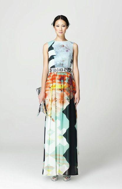 Maxi dress singapore blog