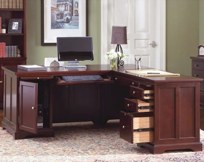Charmant Modern L Shaped Home Office Desk Shape Models