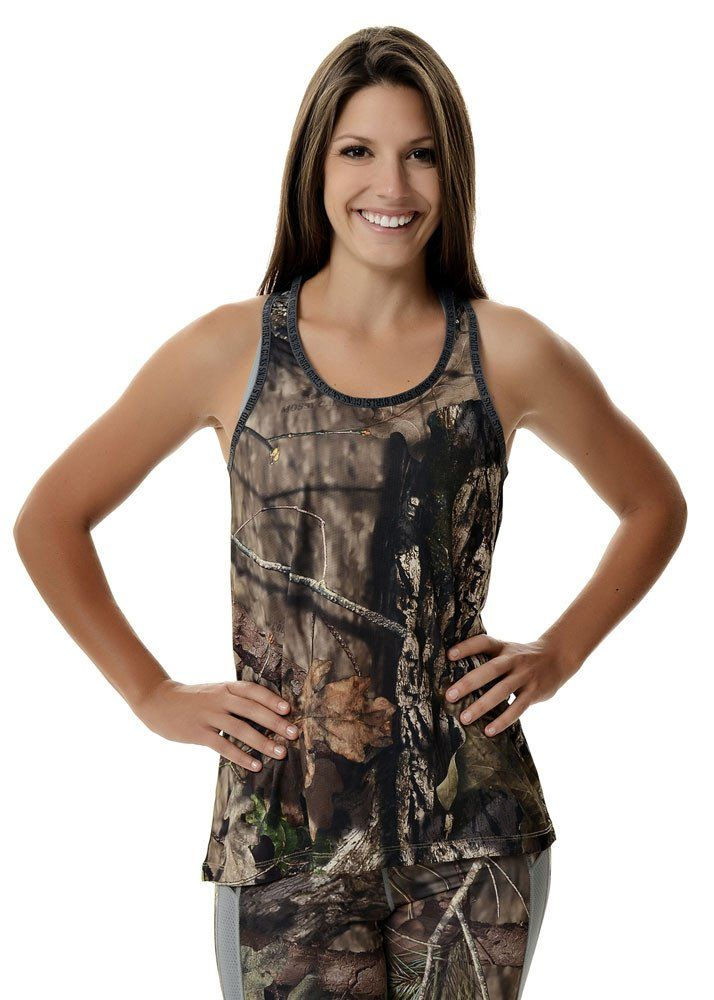 826f4382a621a Women s Lightweight Mossy Oak® Country Camo Athletic Tank