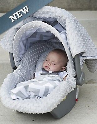 Carseat Canopy Caboodle Infant Car Seat Cover 5 Piece Set Covers Chevy