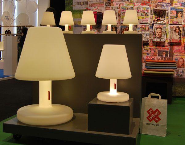 La Collection De Lampe Fatboy Petit Medium Grand Cote Terrasse Paris 2014 Salon Maison Objet