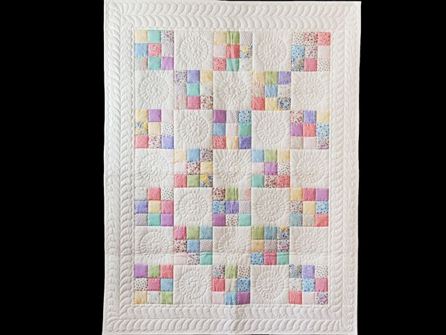 Nine Patch Quilt -- exquisite specially made Amish Quilts from ... : crib quilts - Adamdwight.com