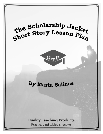 The Scholarship Jacket By Marta Salinas Worksheet And Answer Key