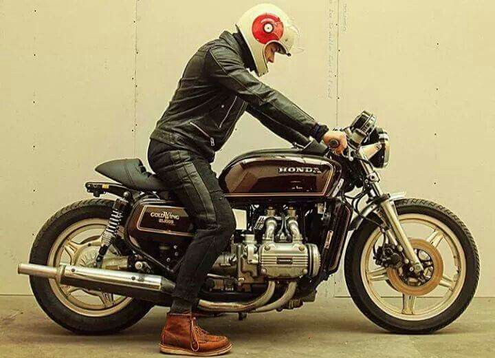 honda goldwing cafe racer motorcycles pinterest honda cafes and bobbers. Black Bedroom Furniture Sets. Home Design Ideas