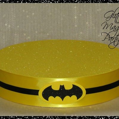 Batman stand - lollipops or cakepops stand - batman party decoration - batman inspired birthday party