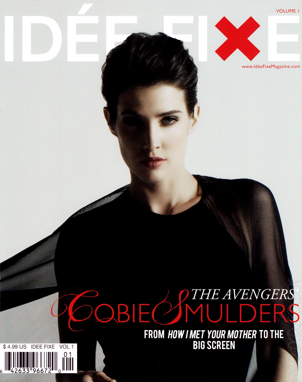 cobie smulders Cobie smulders, Magazine cover