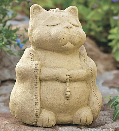 It's a Meditating Cat! Zen is a form of Buddhism that began in 7th ...