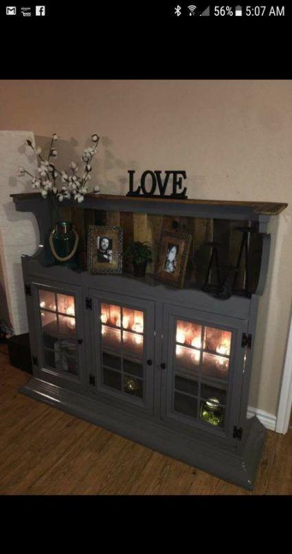 66+ Ideas Diy Furniture Redo Hutch Dressers For 2019